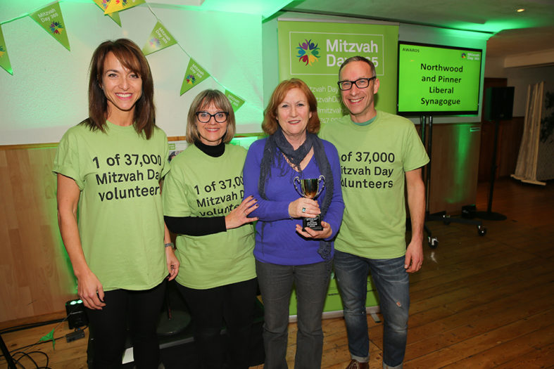 Mitzvah Day Award for NPLS