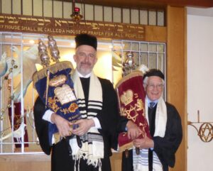 Rabbis Nathan Godleman and Andrew Goldstein