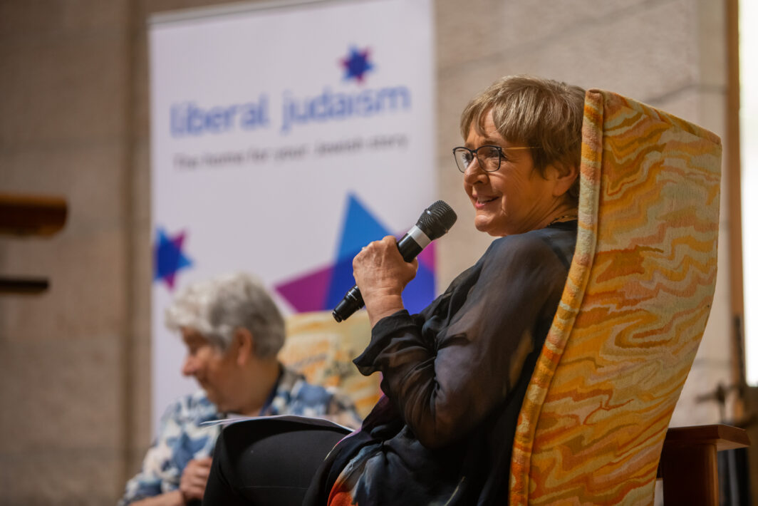 Dame Margaret Hodge and Jean Gaffin OBE at the LJ Day Of Celebration 2019