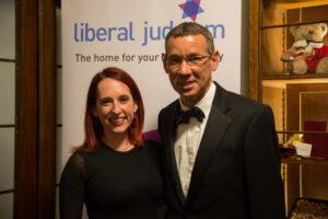 Rabbi Charley Baginsky with Ambassador Mark Regev