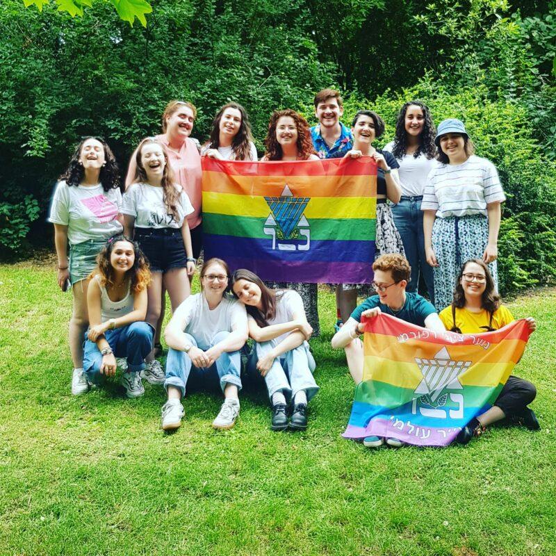 LJY Netzer at Pride