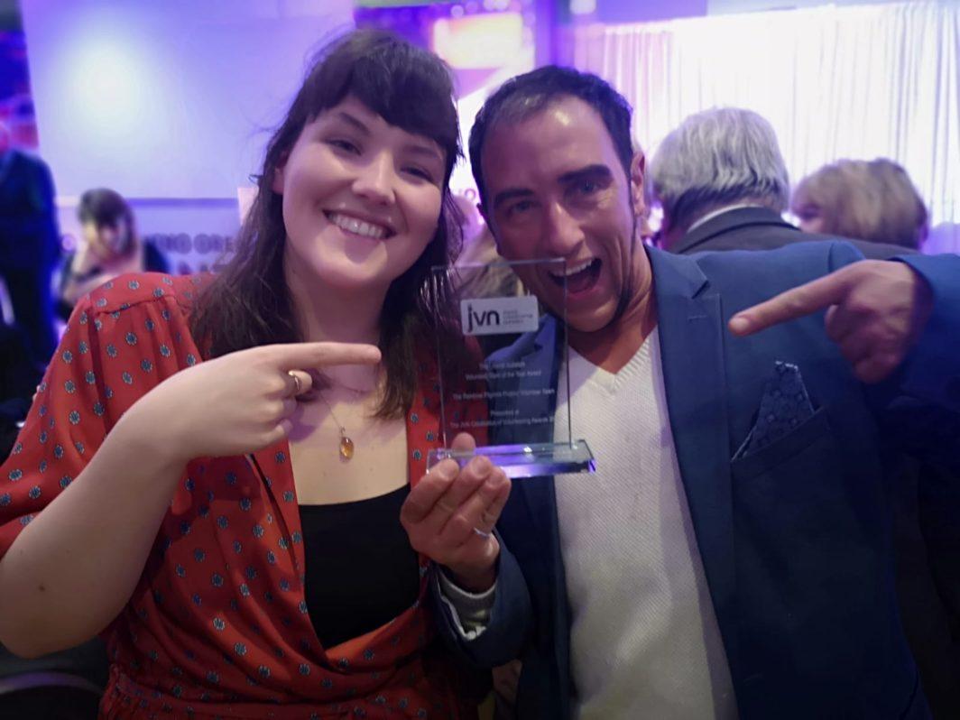 Rainbow Pilgrims JVN Award win