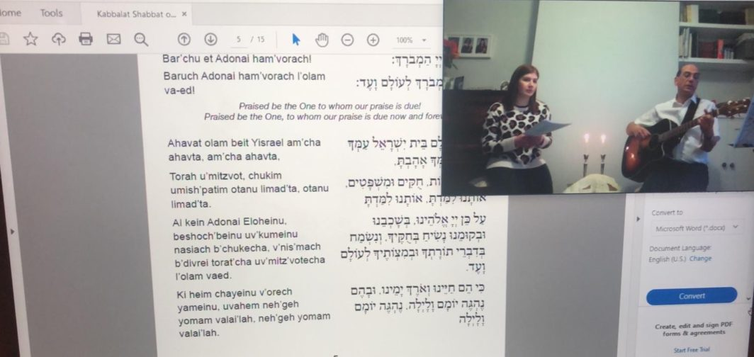 East London and Essex Liberal Synagogue streamed service