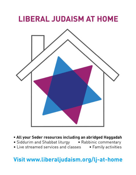 Liberal Judaism at Home Advert