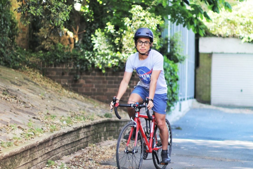 Diego is cycling around all London Liberal Judaism communities