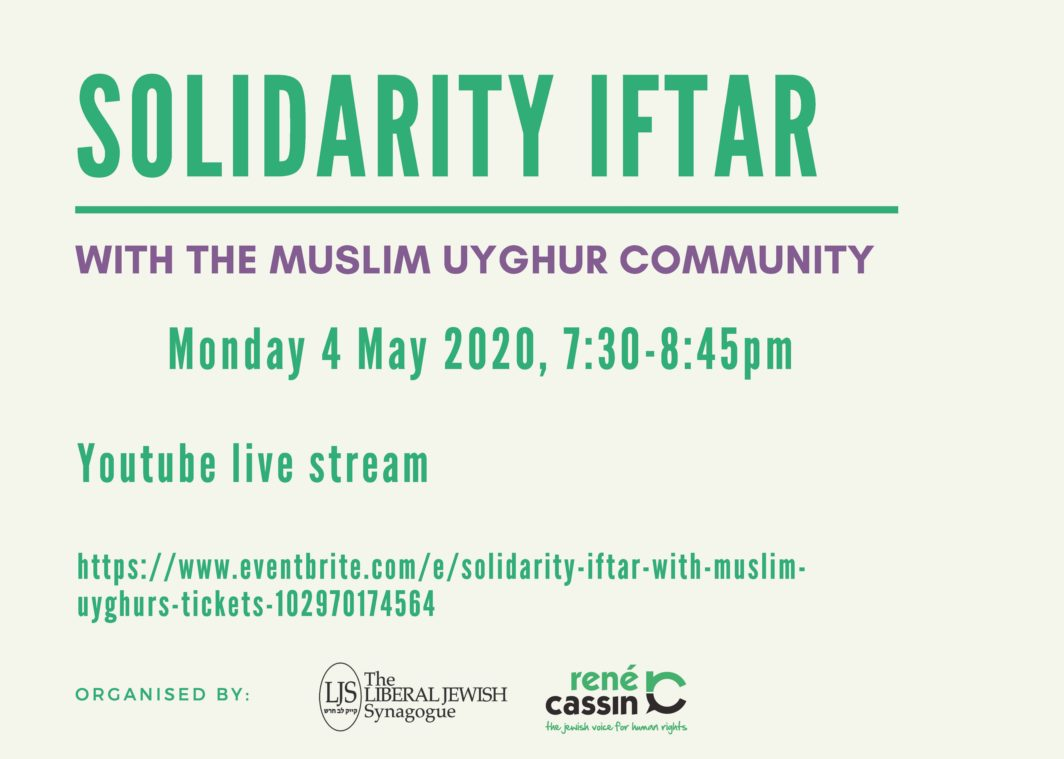 Solidarity Iftar with Muslim Uyghurs
