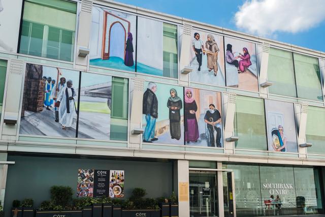 Installation view of Matthew Krishanu works - photo by Linda Nylind