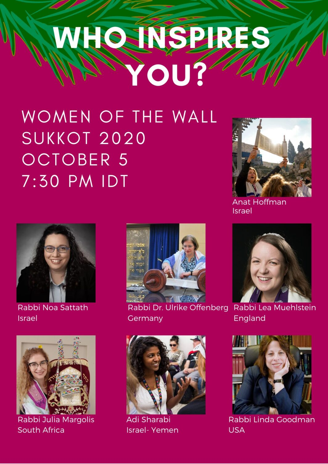 Women of the Wall event