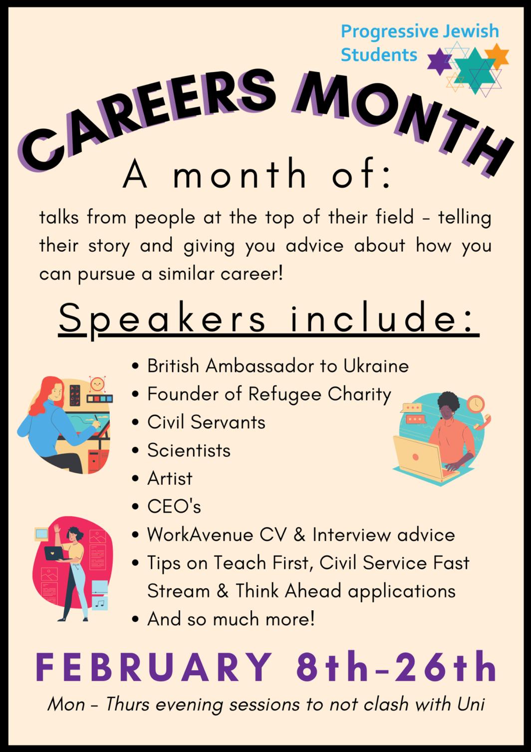 PJS Careers Month