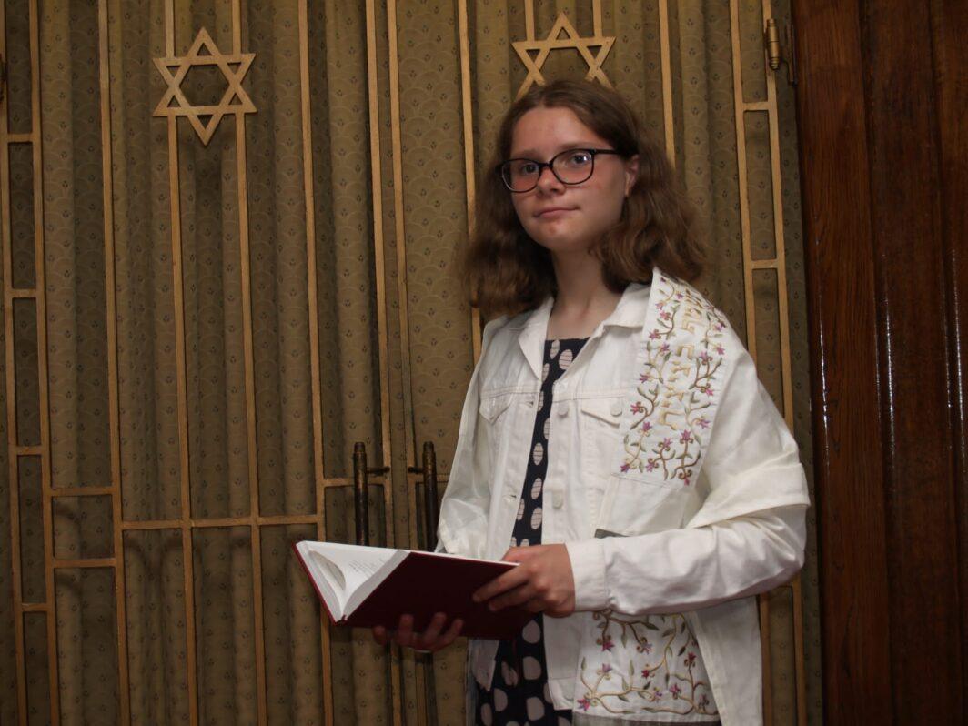 Naomi ELELS batmitzvah